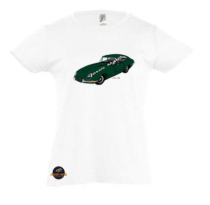 Jaguar Type E / Tee-shirt Fille