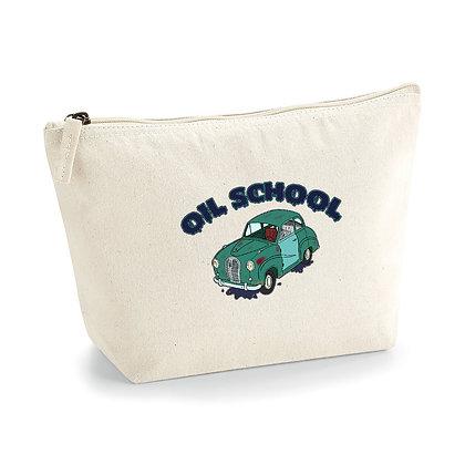 Austin A35 - Oil School / Pochette coton