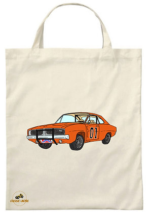 Dodge Charger - Dukes of Hazzard / Tote Bag