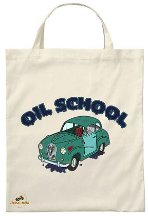 Austin A35 - Oil School / Tote Bag