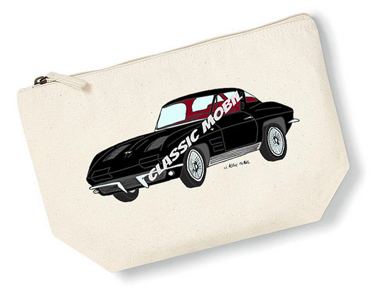 Corvette Sting Ray Split window / Pochette coton