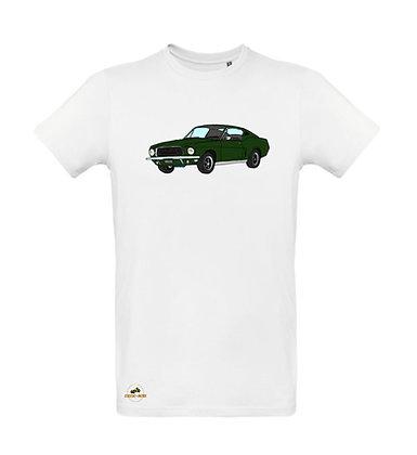 Ford Mustang Bullitt / Tee shirt Homme coton BIO
