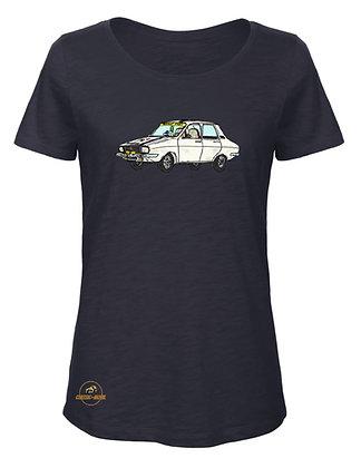 Renault 12 Le Mia  / T-Shirt Femme coton BIO