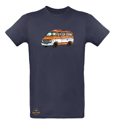 Dodge ambulance Cannonball Run / Tee shirt Homme coton BIO