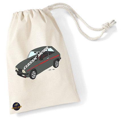 Peugeot 104 ZS2 / Sac pochon coton bio