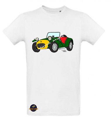 Lotus Seven / Tee shirt Homme coton BIO