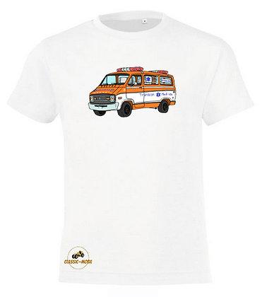Dodge ambulance Cannonball Run / Tee-shirt coton Garçon