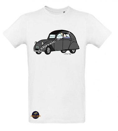 2 CV AZA / Tee shirt Homme coton BIO