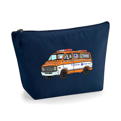 Dodge ambulance Cannonball Run / Pochette coton