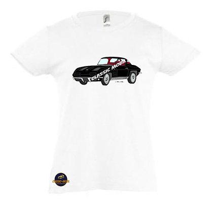 Corvette Sting Ray Split window / Tee-shirt Fille