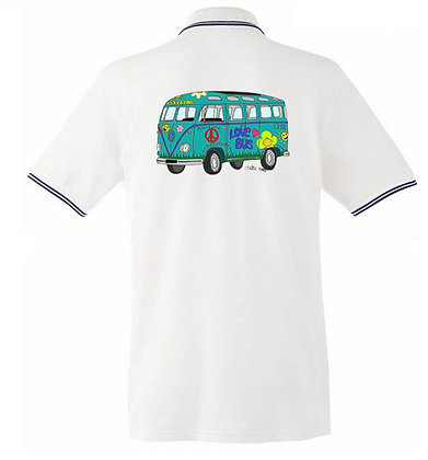 Combi Love Bus  / Homme polo