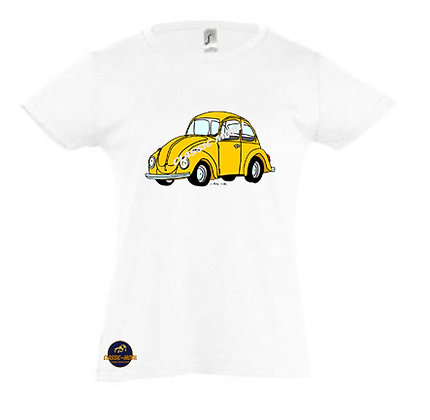 Coccinelle jaune / Tee-shirt Fille