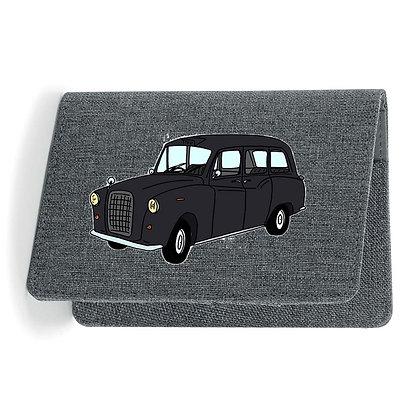 Austin FX4 Taxi Black cab / Etui Carte Grise - Passeport