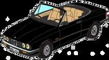 BMW 320 cab E30 noire