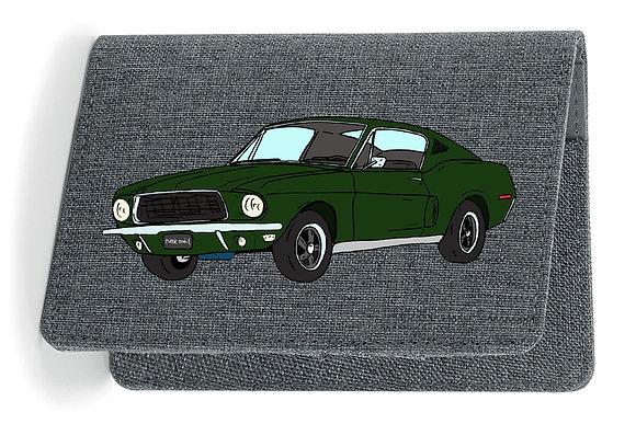 Ford Mustang Bullitt / Etui Carte Grise - Passeport