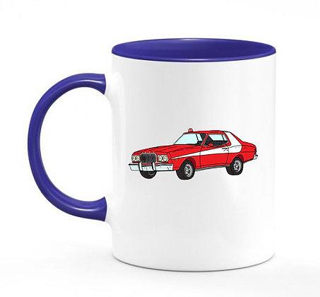 Ford Gran Torino / mug bicolore bleu marine