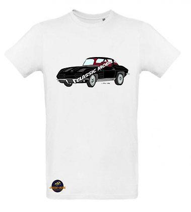 Corvette Sting Ray Split window / Tee shirt Homme coton BIO