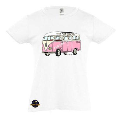 Van rose / Tee-shirt Fille