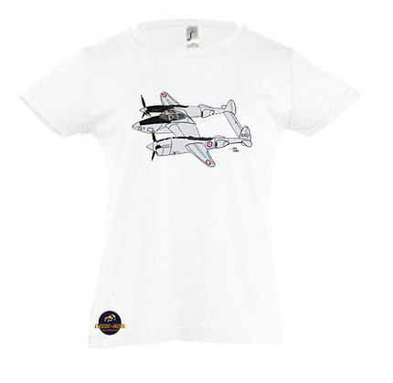 Lockheed P-38 Lightning / Tee-shirt coton Fille