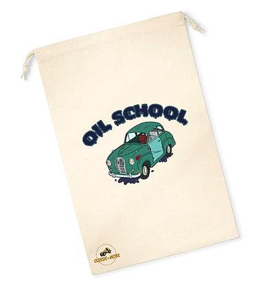 Austin A35 - Oil School / Sac pochon coton bio