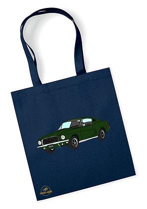 Ford Mustang Bullitt / Tote Bag coton bio