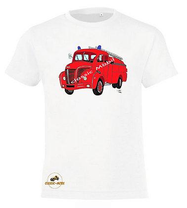 Berliet GLC pompier / Tee-shirt coton Garçon