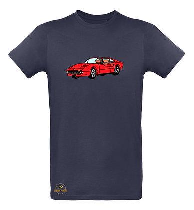 Ferrari 308 - Magnum / Tee shirt Homme coton BIO