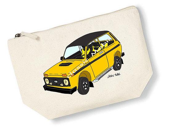Lada Niva Tsarina jaune / Pochette coton
