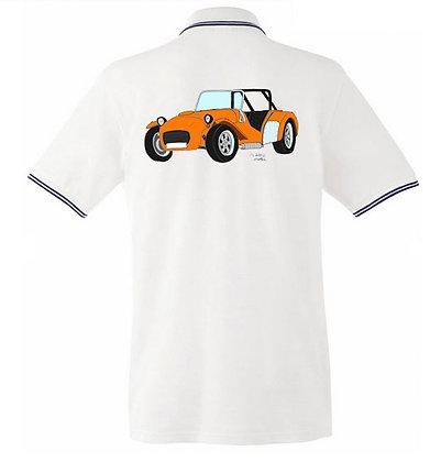 Caterham orange / Homme polo
