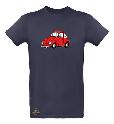Volkswagen Coccinelle rouge / Tee shirt Homme coton BIO