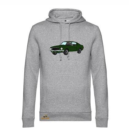 Ford Mustang Bullitt / Homme Sweat-shirt coton bio