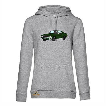 Ford Mustang Bullitt / Femme Sweat-shirt coton bio