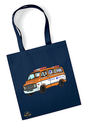 Dodge ambulance Cannonball Run / Tote Bag coton bio