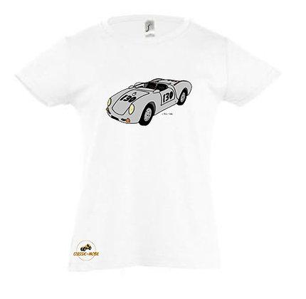 Porsche 550 Spider Little Bastard / Tee-shirt coton Fille