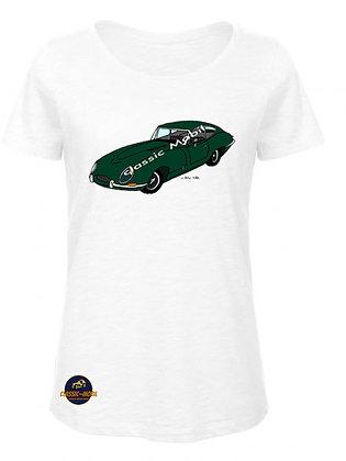 Jaguar Type E /  BIO T-Shirt Femme