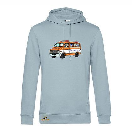 Dodge ambulance Cannonball Run / Homme Sweat-shirt coton bio