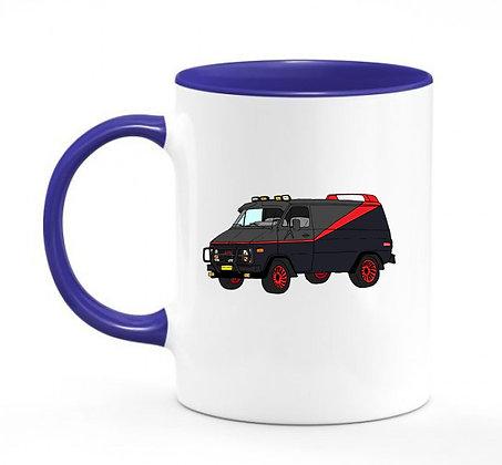 GMC Vandura V8 - ATR / mug bicolore bleu marine