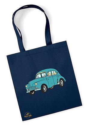 Renault 4 CV / Tote Bag coton bio