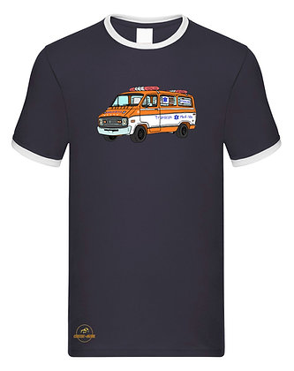Dodge ambulance Cannonball Run  / Tee shirt Homme vintage