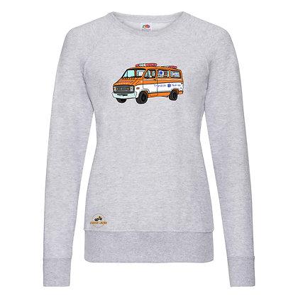 Dodge ambulance Cannonball Run / Sweat-shirt Femme