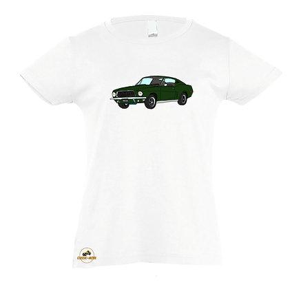 Ford Mustang Bullitt / Tee-shirt coton Fille