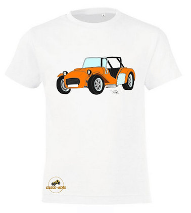 Caterham orange / Tee-shirt coton Garçon
