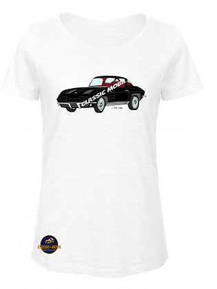 Corvette Sting Ray Split window/ BIO T-Shirt Femme