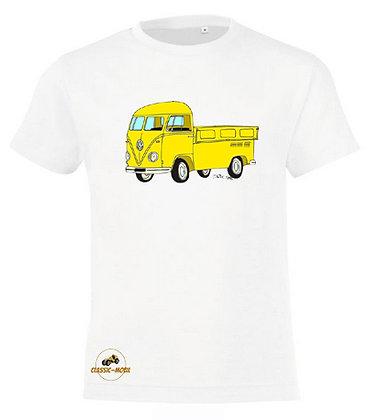 Volkswagen Combi Split Pickup / Tee-shirt coton Garçon