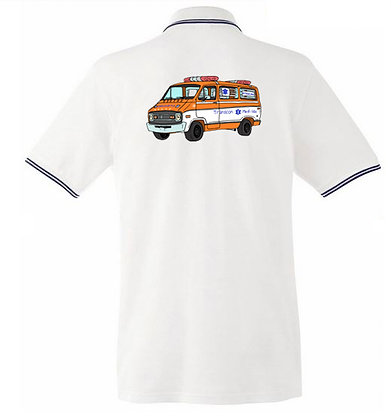 Dodge ambulance Cannonball Run / Homme polo
