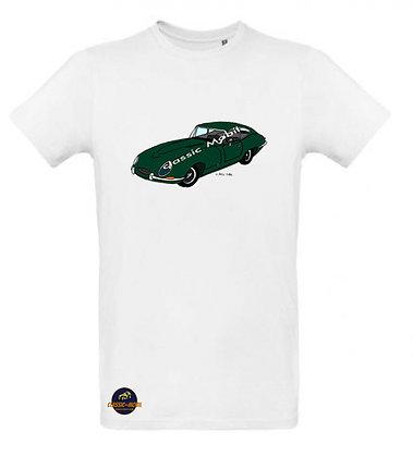 Jaguar Type E / Tee shirt Homme coton BIO