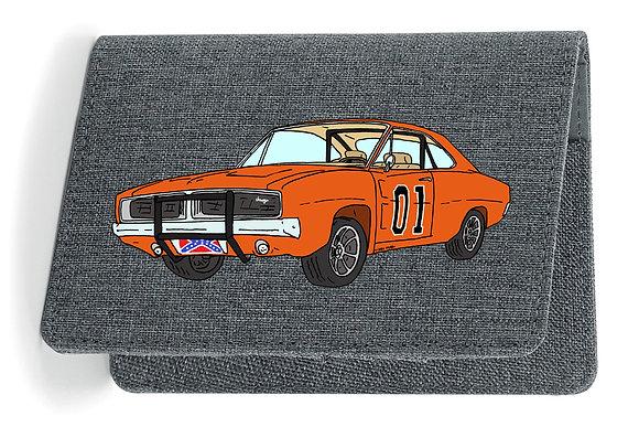 Dodge Charger - Dukes of Hazzard / Etui Carte Grise - Passeport