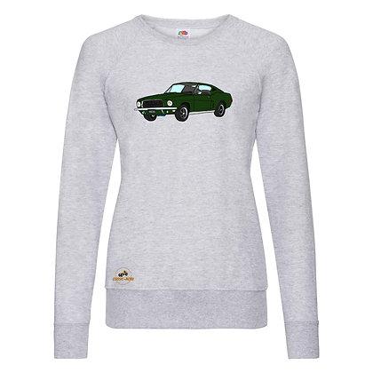 Ford Mustang Bullitt / Sweat-shirt Femme