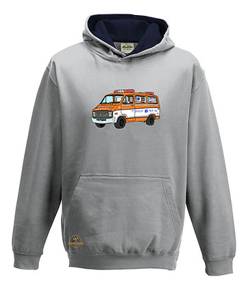 Dodge ambulance Cannonball Run  / Sweat-shirt Enfant