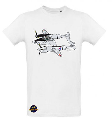 Lockheed P-38 Lightning / Tee shirt Homme coton BIO